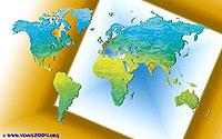 Carte de répartition des participants